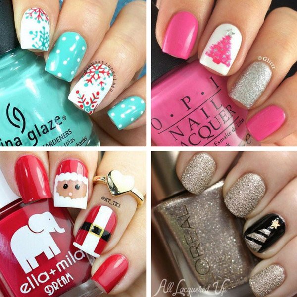 40 Awesome Xmas Nail Designs You'll Actually Want to Wear